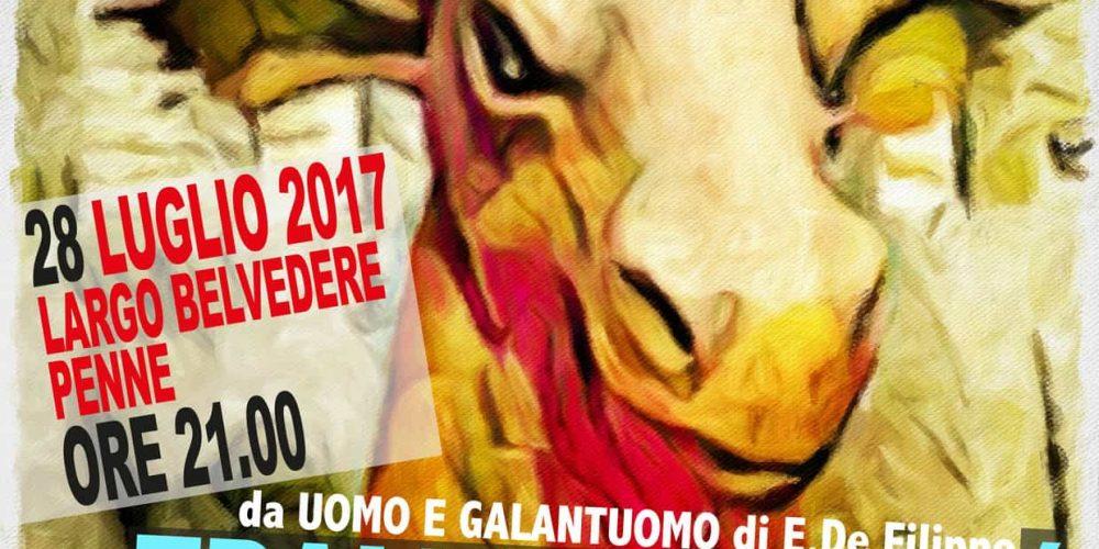28 luglio 2017 spettacolo teatrale Penne