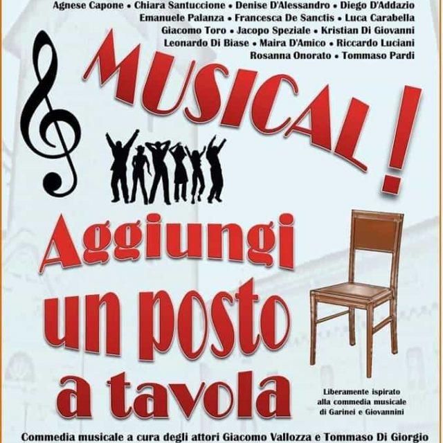 Musical! Aggiungi un posto a tavola