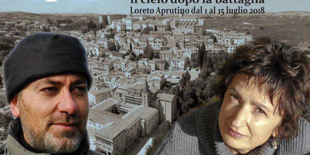 Franco Arminio e Donatella Di Pietrantonio