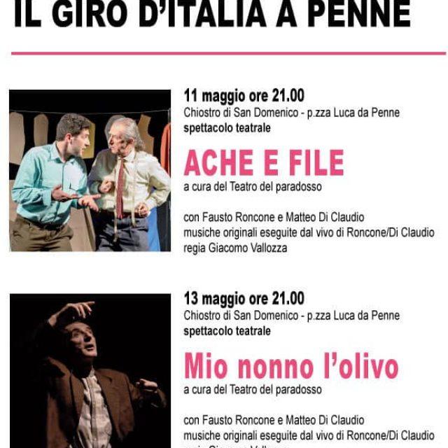 Aspettando il GIRO D'ITALIA 2018 nel comune di PENNE