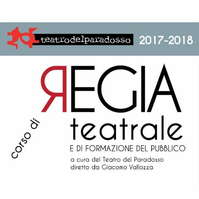 corso di REGIA TEATRALE e di formazione del pubblico