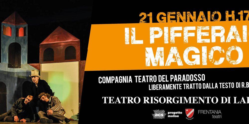 Pifferaio magico – 21 gennaio Larino