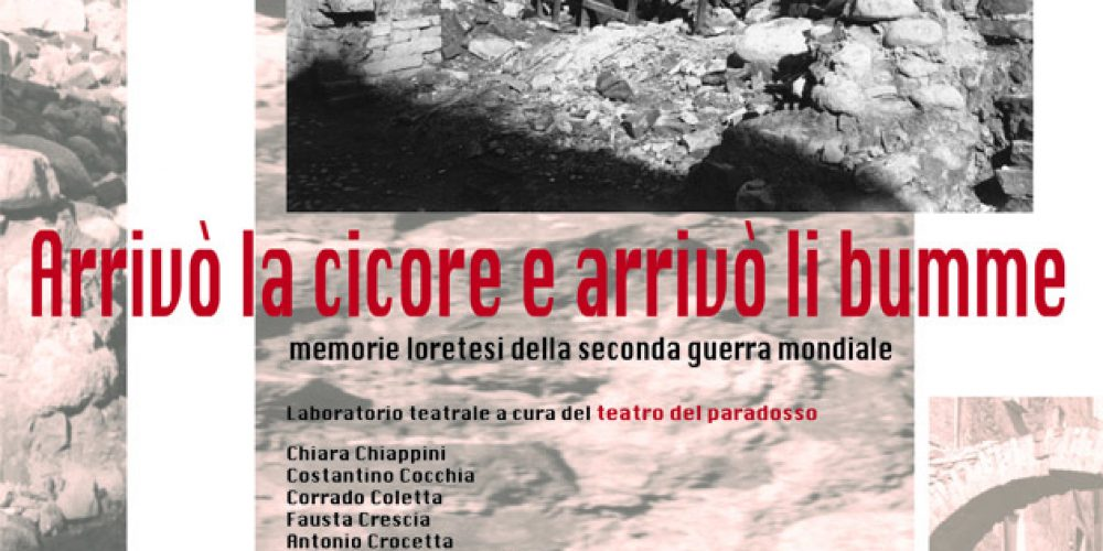 saggio laboratorio teatrale