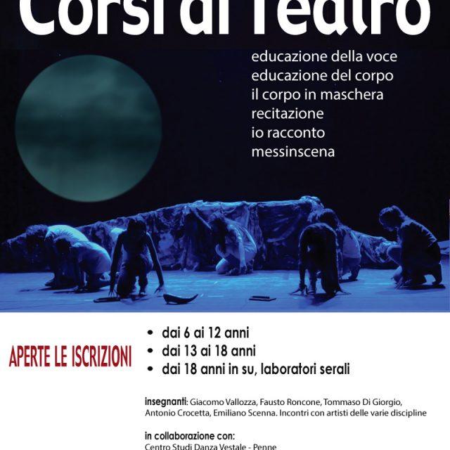 Corsi di teatro 2019-2020